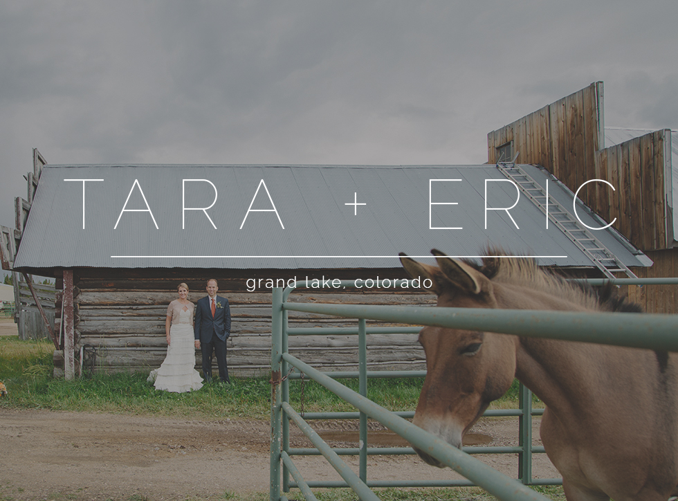 the winding river ranch wedding grand lake photographers