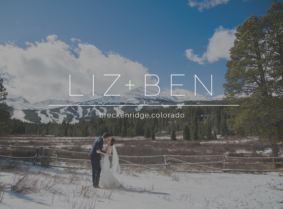 liz and ben wedding